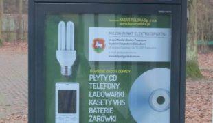 Więcej o: Miejskie Punkty Elektroodpadów